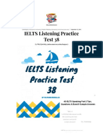 IELTS Listening Practice Test 38