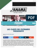 Las Claves Del Escenario Paraguayo 3