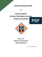 Preliminary Energy Audit (Akhir) (1)