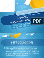 BARROCO HISPANOAMERICANO 9°