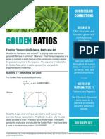 activity 3 golden ratios