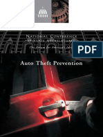 Auto Theft Prevention - NCSL