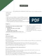 Speaking Exam_multiple Exam Examples