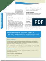 18. The ways and words of Mullah Nasruddin.pdf