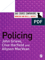 Grieve, Harfield, MacVean - Policing (SAGE Course Companions) 2007