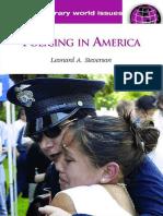 Steverson - Policing in America 2007
