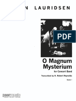 O Magnum Mysterium H. Robert Reynolds