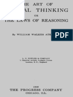The Art of Logical Thinking or the Laws of Reasoning by William Walker Atkinson