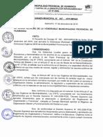 Organigrama Provincial Huamanga