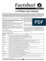 Minerals in Plants and Animals