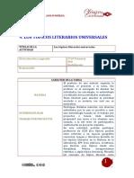 9. Los Tópicos Literarios Universales.