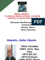 Walter Mignolo
