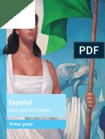 Primaria Primer Grado Espanol Libro Para El Maestro Libro de Texto