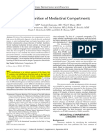 A Modern Definition of Mediastinal Compartments