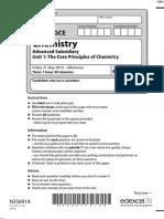 June 2010 MS - Unit 1 Edexcel Chemistry a-level
