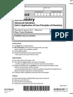 January 2011 QP - Unit 2 Edexcel Chemistry a-level