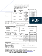 Bd Price List