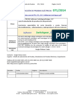 VALIDACION DEL Software SwitchgearDesign