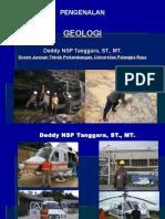 Materi - Geologi 2013 Untuk Mahasiswa