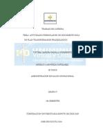 Trabajo de Catedra Plan Transformacion Praxeologica