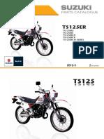 Catalogo Partes Suzuki - TS125