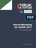 InternetRetailing  UK Top500 2017