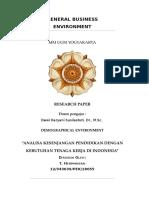 Research_Paper_GBE_Analisa Kesenjangan Pendidikan Dengan Kebutuhan Tenaga Kerja Di Indonesia