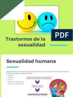 Trastornos sexualidad