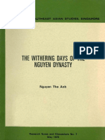 The Withering Days of the Nguyen Dynasty - Nguyễn Thế Anh