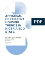 Appraisal of Current Housing Trends in Nigeria