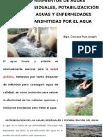 Tratamientos de Aguas Residuales, Potabilizacición de Aguas