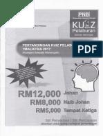 Kuiz Pelaburan Pnb 2017