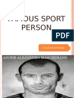 English Project Mascherano