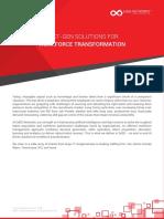 Next Gen Solutions for Workforce Transformation