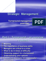 Turnaround Management an Overview for MBA