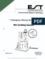 Emergency Chlorine Scrubbers Wet Scrubbing