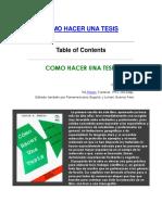 T02 - Cómo Hacer Una Tesis y Elaborar Todo Tipo de Escritos - Carlos Sabino.pdf
