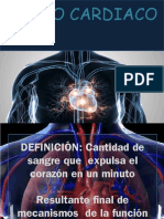 4. Gasto Cardiaco