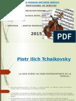 Piotr Ilich Tchaikovsky vida, anecdotas  y obras resltantes - JOSE MACHUCA REYES - Reemplaza a Informe de Película - Nota 16.pptx