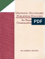 Bautista Monograph