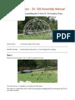 3V GeodesicDome Manual