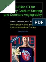 Multi-Slice Tomography Angiography 9-15