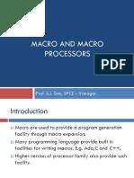 Macro and Macroprocessors