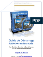 guide demarrage autorepondeur aweber2009
