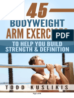45 Bodyweight Arm Exercises eBook
