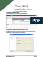 VMware ESXI Agregar Datastore