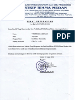 Scan Surat Keterangan