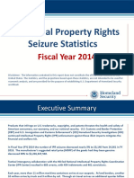 2014 IPR Stats Homeland Security 2014 Seizures