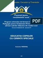 Educatia Copiilor Cu Cerinte Speciale