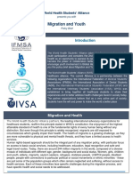 WHSA Policy Brief on Migration and Youth